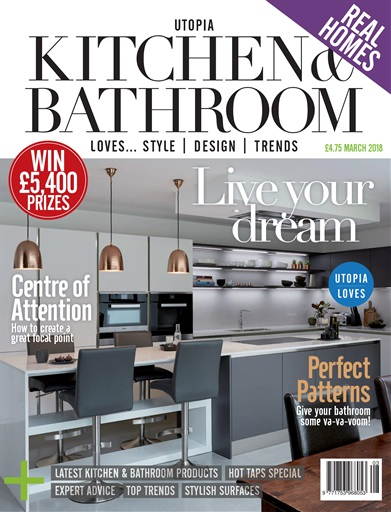kitchen magazine island bench utopia bathroom march 2018 subscriptions title cover preview