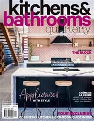 kitchen magazine glass table set kitchens bathrooms quarterly issue 25 4 2018