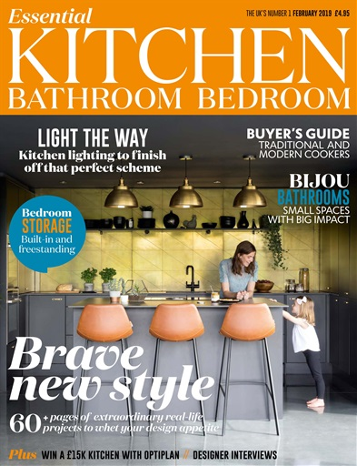 kitchen magazine century cabinets essential bathroom bedroom february 2019 title cover preview