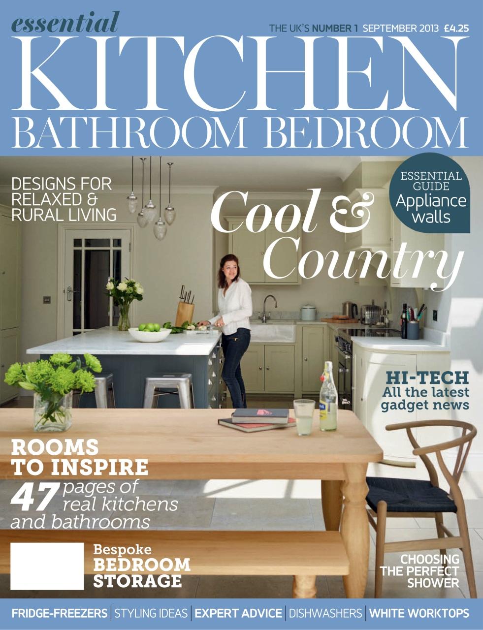 kitchen magazines modern valances essential bathroom bedroom magazine september 2013 preview