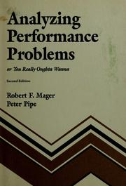 Analyzing performance problems or You really oughta wanna 1984 edition  Open Library