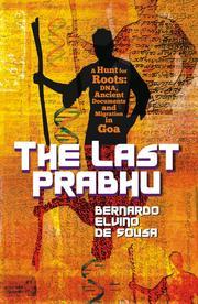 Cover of: The Last Prabhu by De Sousa, Bernardo Elvino