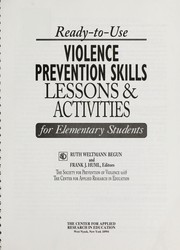 Ready-to-use violence prevention skills, lessons