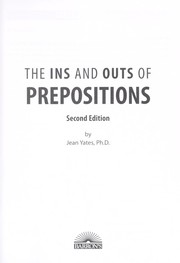 ins and outs of prepositions