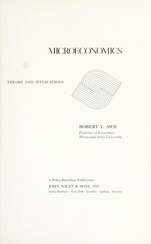 Microeconomics Theory And Applications Book Read Online