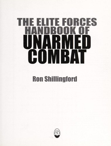 The elite forces handbook of unarmed combat (2000 edition
