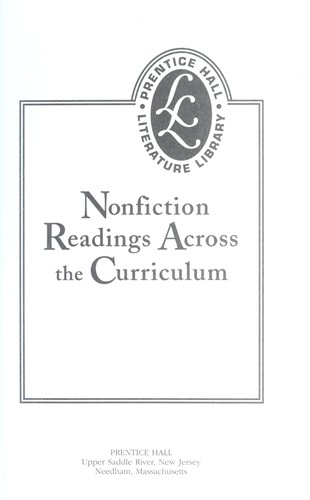 Nonfiction Readings Across the Curriculum (2000 edition