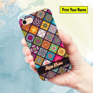 Fancy - Print Your Name Mobile Cover - Design #004