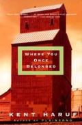 Where You Once Belonged Cover
