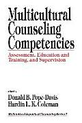 Multicultural Counseling Competencies Assessment Education
