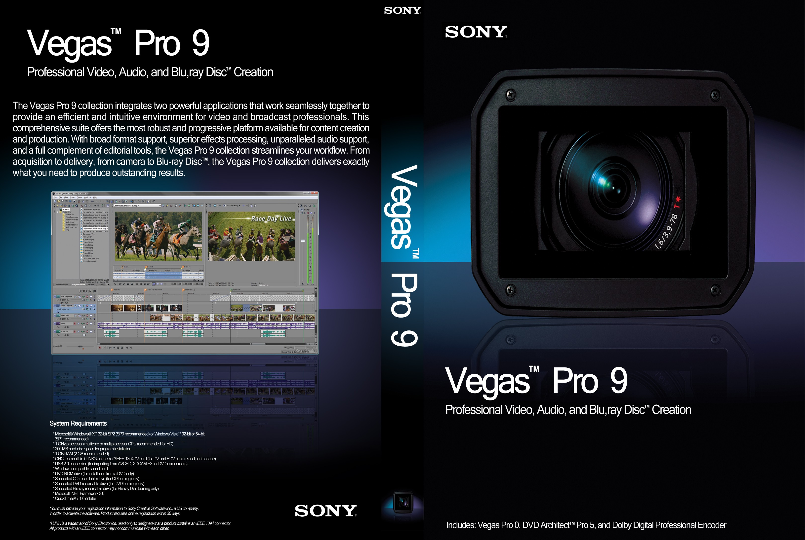 18 Oct The Vegas Pro 9 Collection Integrates Two Powerful