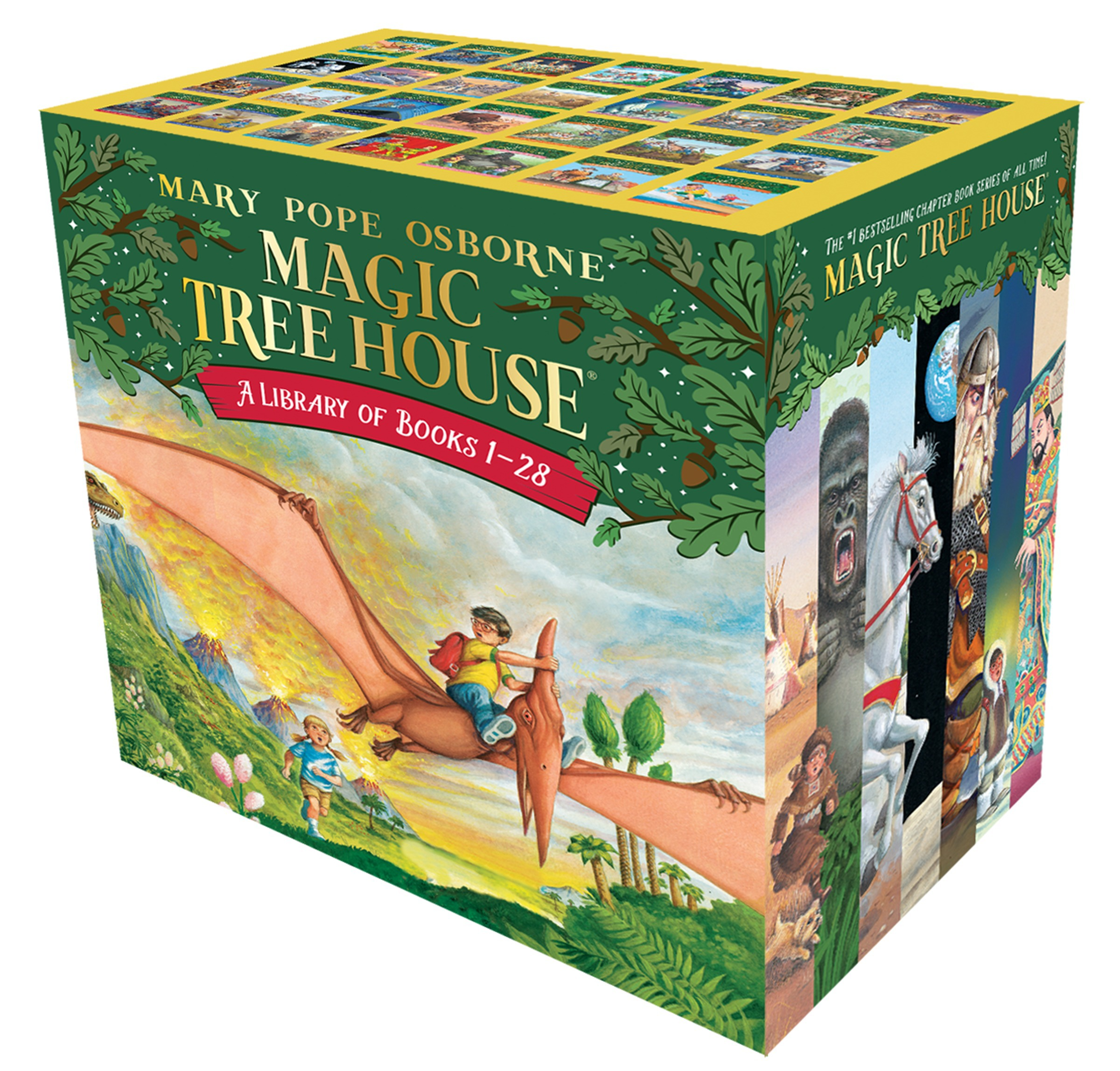 Magic Tree House Books 1 28 Boxed Set By Mary Pope Osborne