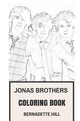 Jonas Brothers Coloring Book : Power Pop and American Rock