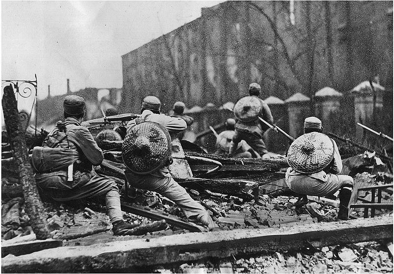 28.01.1932 – Bombardierung von Shanghai