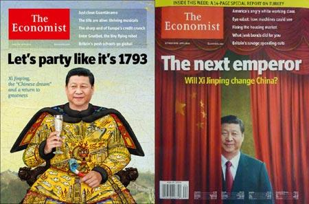 Chinese president Xi Jinping emperor photo lands The Economist in hot water  | Bamboo Innovator