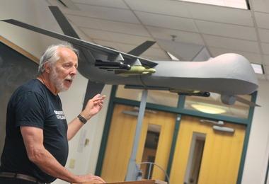 Lehigh University drone talk