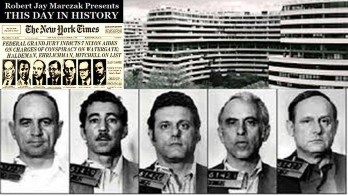 "ᖇOᗷEᖇT ᒍᗩY ᗰᗩᖇᑕᘔᗩK ? on Twitter: ""June 17, 1972 Watergate burglars  arrested #rjm #arrested #burglars #CREEP #DemocraticNationalCommittee #DNC  #GGordonLiddy #HowardHunt #HRHaldeman #JamesMcCord #JohnEhrlichman  #JohnSirica #VirginiaAvenue ..."