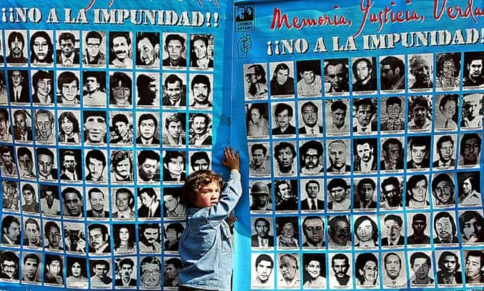 Pictures of some of the thousands killed in Chile during Operation Condor, a top-secret program among South American dictatorships.