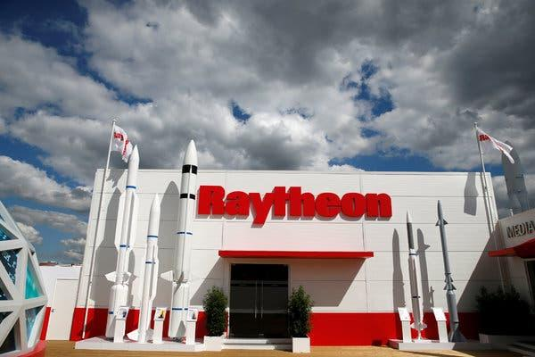Raytheon  hired former U.S. officials to press for approval of arms deals with Saudi Arabia, one of its most important clients.