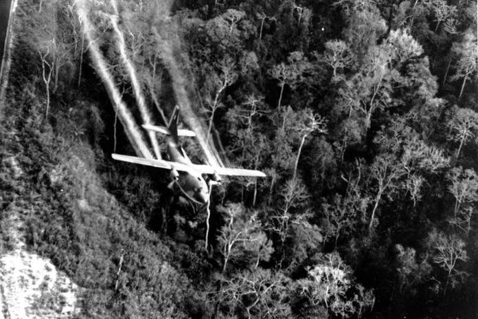 U.S. launches spraying of Agent Orange, Jan. 18, 1962 - POLITICO