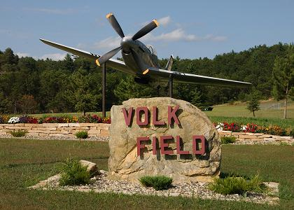 Volk Field > About Us > History