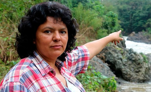 """She did not die; she multiplied"""": Honouring Berta Cáceres 