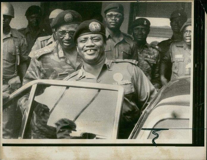 Amazon.com: Vintage photo of Ibrahim Babangida: Entertainment Collectibles
