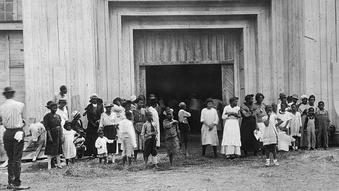 Black Americans displaced by the Tulsa Massacre in 1921