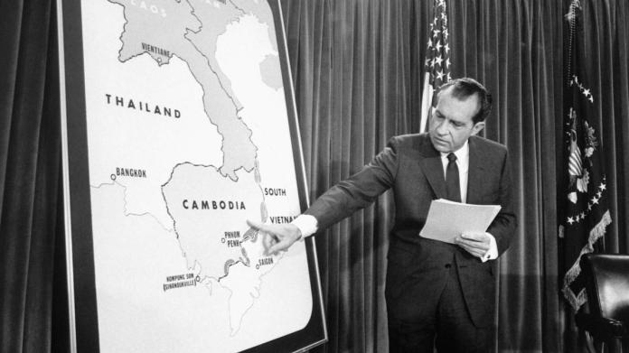 How Nixon's Invasion of Cambodia Triggered a Check on Presidential Power - HISTORY