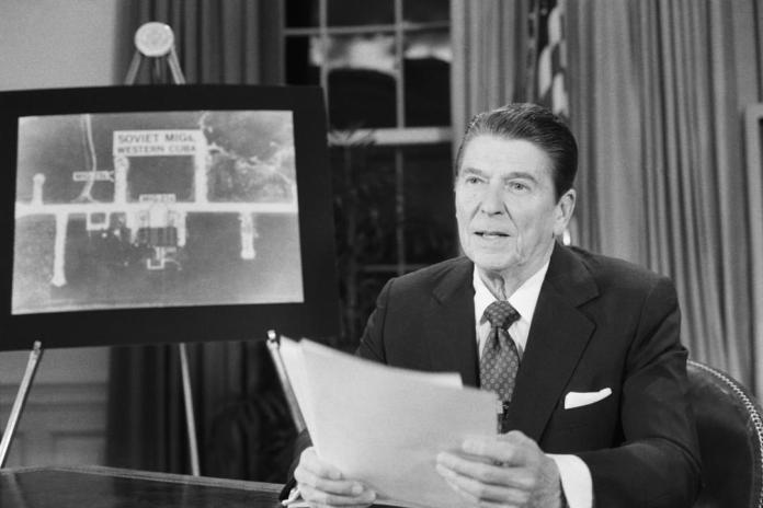 23 March 1983: President Ronald Reagan Proposes The Strategic Defense  Initiative (SDI), Better Known As 'Star Wars'