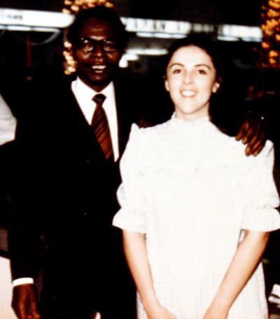Barack Obama Sr. and Ann Dunham.