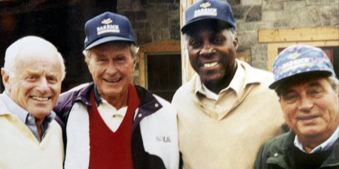 Barrick Gold Corporation - Barrick Honors the Memory of President George H.  W. Bush