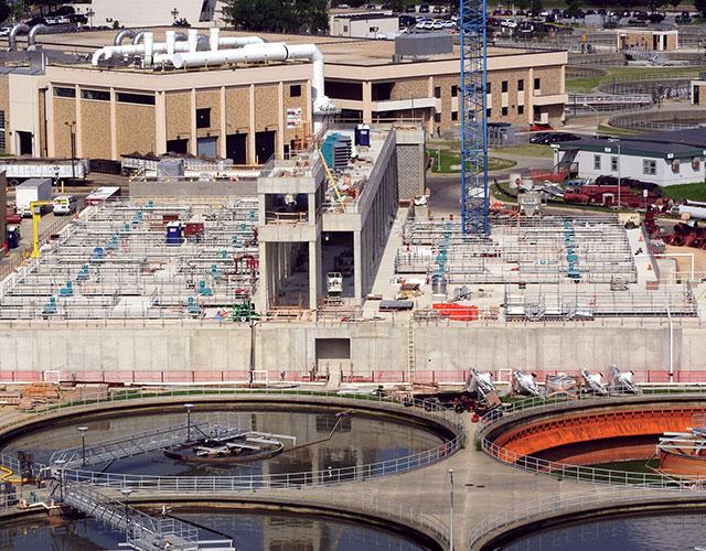 Blue Plains Advanced Wastewater Treatment Plant - Filtrate Treatment Facility, Washington, DC