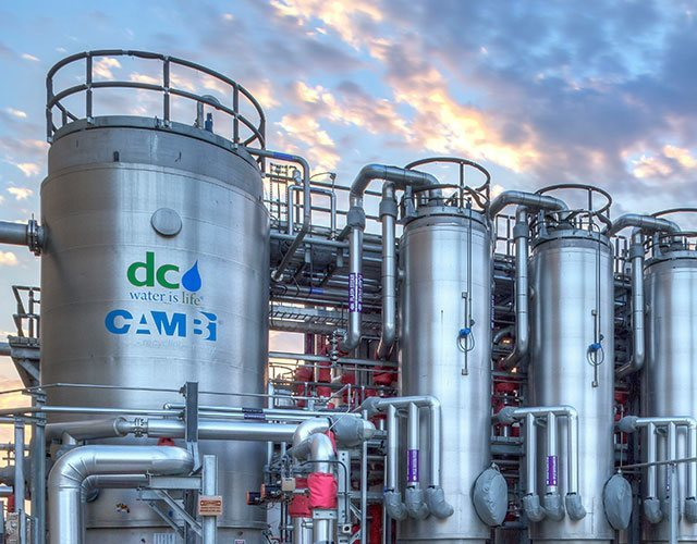 Blue Plains Advanced Wastewater Treatment Plant : PC Construction Company :  General Contracting, Construction Management & Design-Build Services