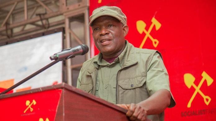 There's no other approach than the socialist approach, says Zambia's Fred  M'membe : Peoples Dispatch