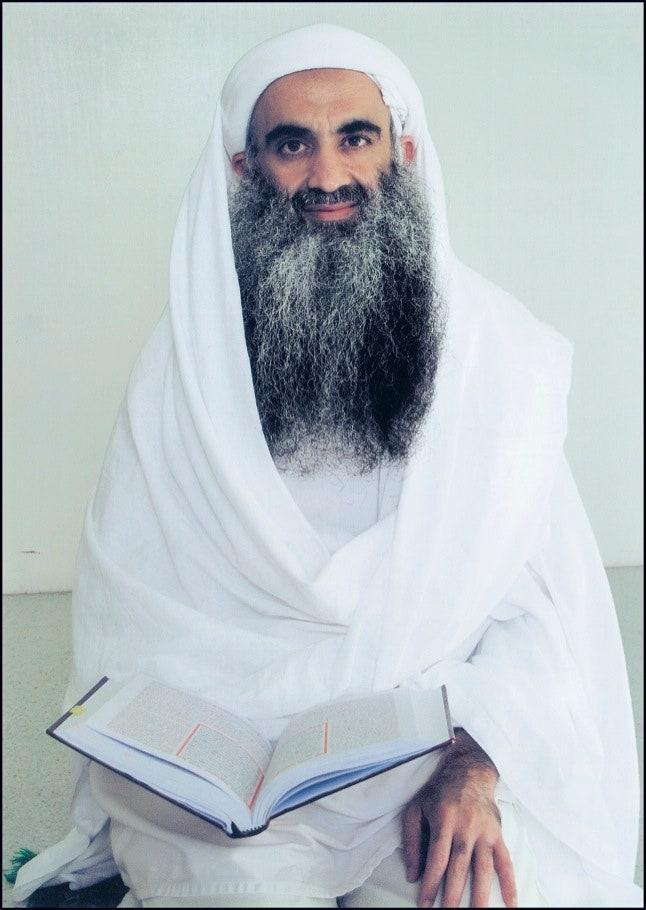 Mohammed fotografiado el año pasado en Guantnamo, donde ha estado detenido desde 2006 y aún espera juicio.