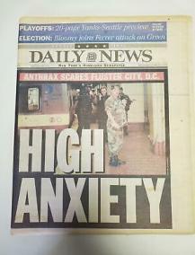 NEWSPAPER - DAILY News - Anthrax Enigma - November 1, 2001 - £8.64 |  PicClick UK