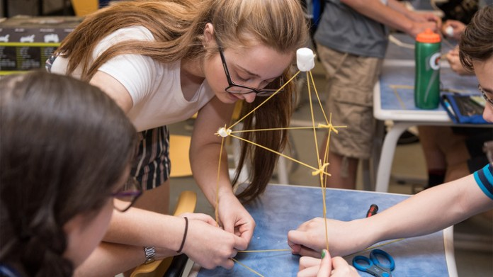 UNH STEM program participants