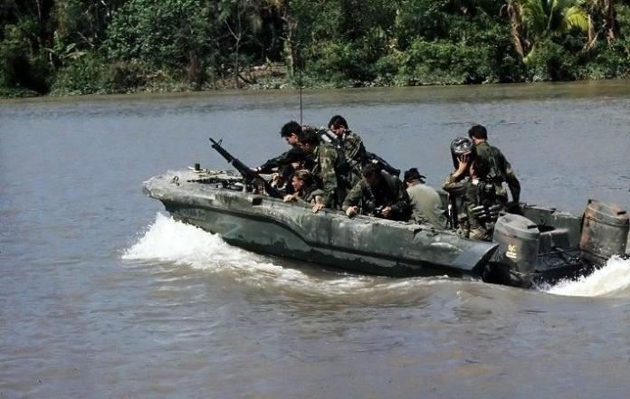 Why Navy SEALs wore blue jeans in Vietnam