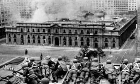 Uncovering Britain's secret role in protecting Chile's 1973 coup   Grace  Livingstone   The Guardian