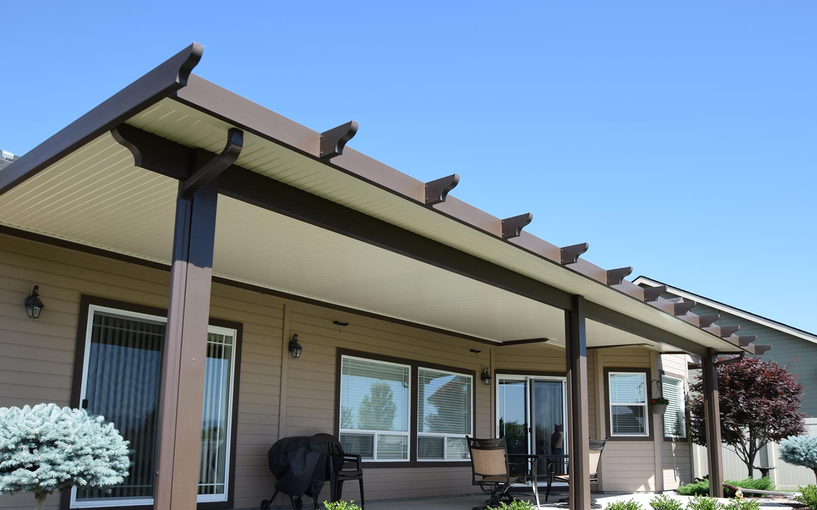 patio covers shades and concrete boise