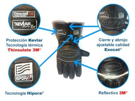guante-exocet-5000-detalles