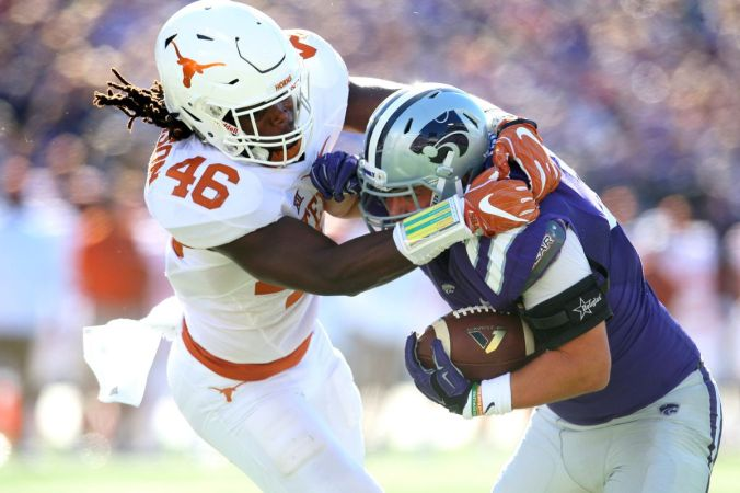 Image result for Texas Longhorns vs. Kansas State Wildcats