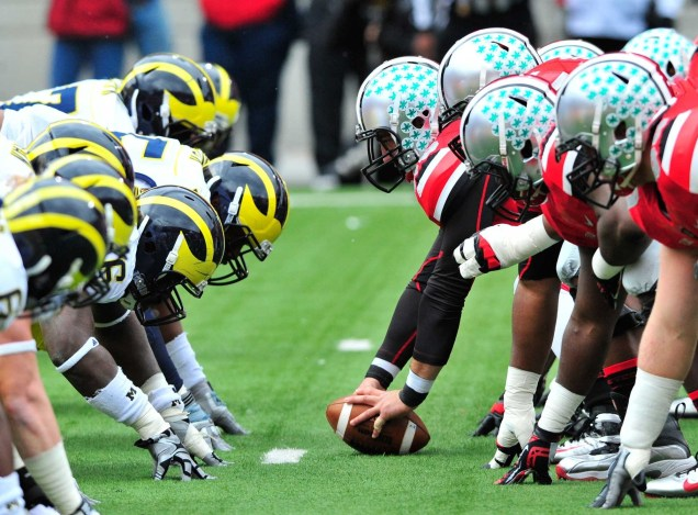 Image result for Michigan Wolverines vs. Ohio State Buckeyes