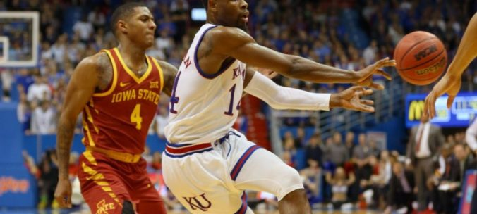 Image result for Iowa State Cyclones vs Kansas Jayhawks college basketball