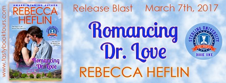 Tasty Book Tours Spotlight: Romancing Dr. Love by Rebecca Heflin