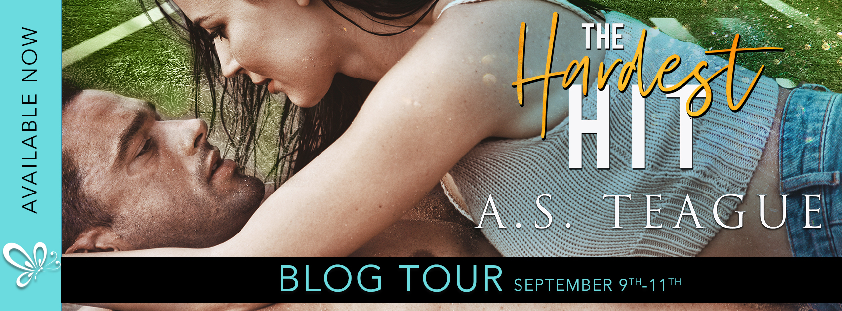 Social Butterfly PR Blog Tour Excerpt: The Hardest Hit by A.S. Teague