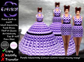 Purple Maternity + Classic Avatar + TMP
