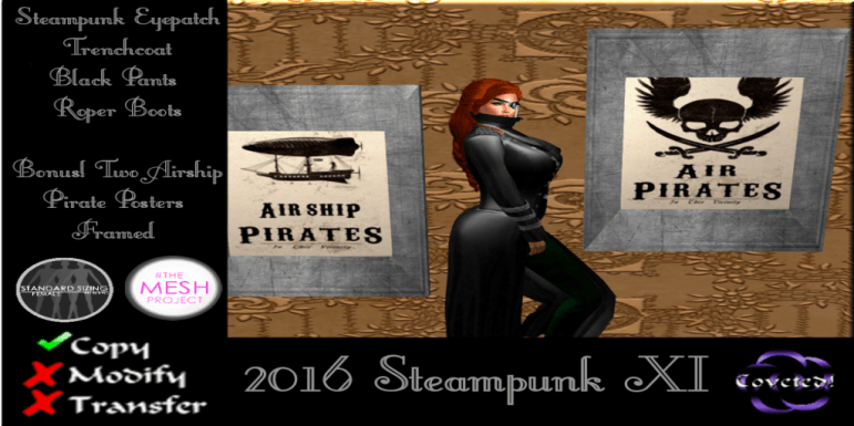 Steampunk Hunt XI--Women's gift from COVETED!