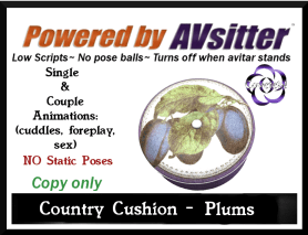 Country Cushion-Plums by COVETED!